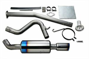 Tomei Full Titanium Muffler Kit Expreme Ti V2 Sound Reducer Fits Ae86 Type s
