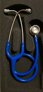 Nib 3m Littmann Classic Ii Pediatric Stethoscope Caribbean Blue Rainbow 2153