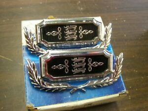 Nos Oem Ford 1968 1972 Torino Roof Side Ornaments Emblems 1969 1970 1971 Wreaths