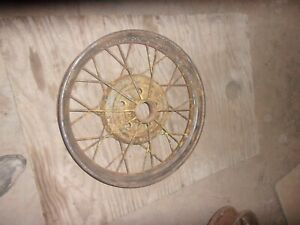 1928 1929 Model A Ford 21 Wire Wheel Straight Solid Wheel