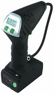 Slime 40057 Handheld Cordless Tire Inflator Pump With Auto Shut Off Lithium Ion