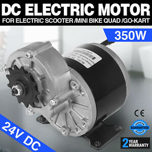 350w Dc Electric Motor 24v 3000rpm Gear 9 7 1 Skateboard E scooter Compatible