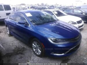 Automatic Transmission 15 Chrysler 200 With Auto Engine Stop Start 2504094