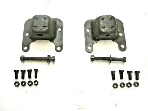 1968 1972 Chevelle 350 396 400 454 Engine Motor Frame Mounts With Bolts Pair