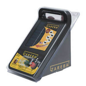 Zareba 5 mile Solar Low Impedance Electric Fence Charger
