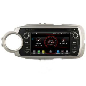 Android 8 1 Car Dvd Player Gps Radio Stereo For Toyota Yaris 2012 2013 2014 2015