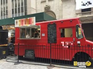 Grumman P35 Coffee Food Truck For Sale In New York