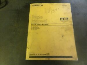 Caterpillar Cat 963b Track Loader Parts Manual 9bl Sebp2393 01
