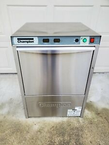 Champion Uh130b m4 High Temp Undercounter Commercial Dishwasher