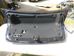 2016 Chevy Cruze Trunk Lid