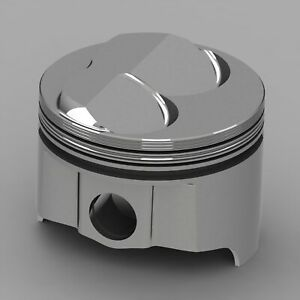 Icon Forged Piston Set Fits Chevy 302 Rod 5 700 Hollow Dome 9 7cc 2v