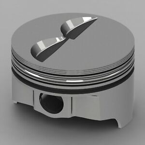 Icon Forged Piston Set Fits Chevy 377 Rod 5 700 Flat Top 4 8cc 2v