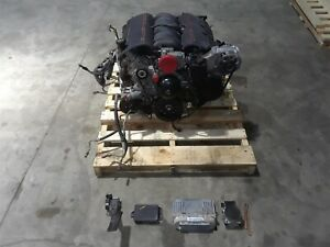 1998 Corvette C5 Complete Engine Ls1 Drop Out 5 7 345hp 92k Aa6432