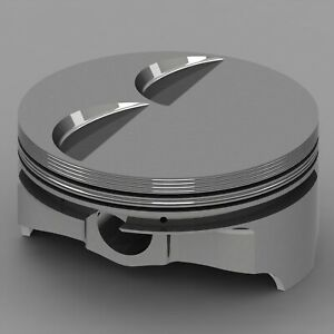 Icon Forged Piston Set Fits Chevy Ls2 3 Rod 6 125 Flat Top 4 140cc 2v