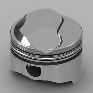 Icon Forged Piston Set Fits Chevy 427 Rod 6 135 Oc Hollow Dome 425 38cc 1v