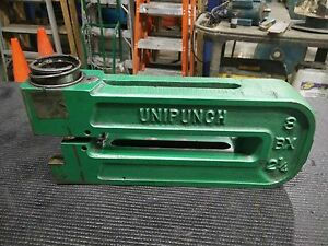 Unipunch 8 bx 2 1 4 Frame Punch Die Included