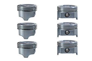 01 04 Fits Chevrolet Tracker 2 5l Dohc V6h25a6 Dish Top Pistons Std 020