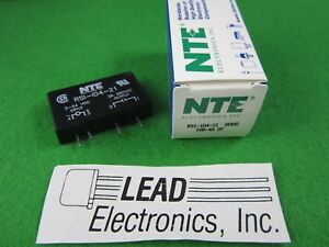 4 Amp Printed Circuit Board Mountable Solid State Relay Nte Rs1 1d4 21