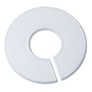 White Round Plastic Blank Rack Size Dividers Multi pack