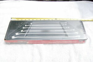 New Snap On Xdhm606 6 Piece 15 Deg Offset 12pt Box Wrench Set Metric 8 To 20mm