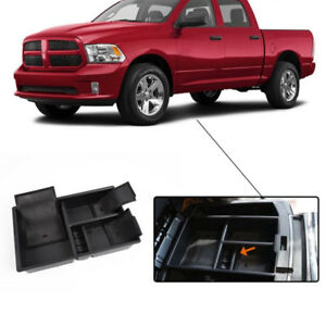 Center Console Organizer Car Tray Storage Box For Dodge Ram 1500 Truck 2009 2018