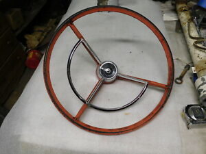 1961 1967 Ford Pickup Steering Wheel Horn Ring