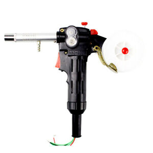 24v Dc Motor Mig Spool Gun Wire Feed Aluminum Welder Torch Weld Tool