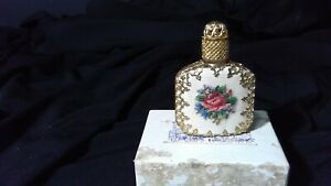 Old Austria Crystal Crown Stopper Perfume Bottle