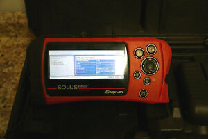 Co Snapon Solus Pro Diagnostic Scanner