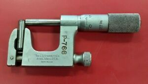 Starrett Co P 766 Anvil Micrometer No 220
