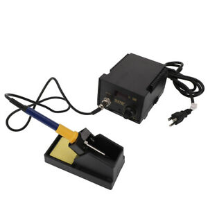 937d 110v 60w Electric Iron Soldering Station Smd Welder Welding W Stand