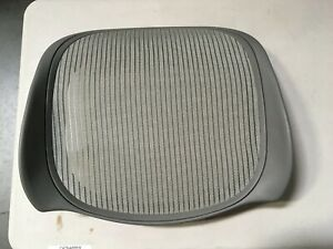 Herman Miller Aeron Chair Replacement Seat Pan S8 3v03 Titanium Small Size A Oem