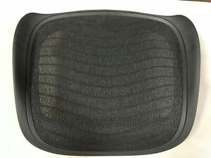Herman Miller Aeron Chair Seat Pan 4e01 Graphite Large Size C Wave Carbon Mesh