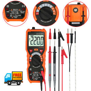 6000 Counts True Rms Digital Multimeter Ac dc Ncv Voltage Tester With Backlight