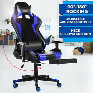 Office Gaming Chair Ergonomic Executive Home Racing Stools Deck Computer Seat Us