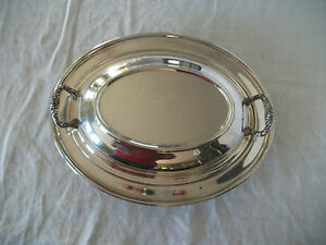 Academy Silver Covered Casserole Veg Dish Bowl