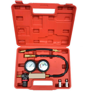 Cylinder Leak Tester Petrol Engine Compression Leakage Leakdown Detector Sets