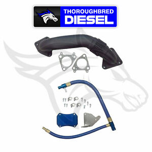 Gdp Egr Cooler Upgrade Kit W Up Pipe For 2011 2016 Gm Duramax Lml