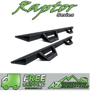 Raptor Series Drop Steps 07 14 Chevy Silverado Gmc Sierra 2500 3500 Crew Cab