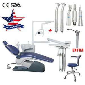 Computer Control Dental Chair Thermostatic Water stool Unit handpieces syringe A