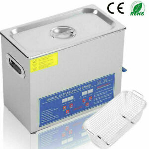 Stainless Steel Industry Ultrasonic Cleaner Heated Heater Jewellery Glasses Lab