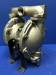 Ingersoll rand 666100 2a4 c Stainless Diaphragm Pump 1