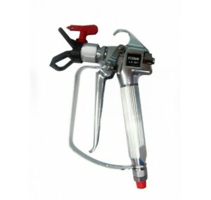 Titan Lx80 ii 4 finger Airless Spray Gun W Guard 580 545 Oem no Tip