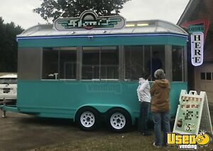 2015 8 X 18 Custom Ice Cream Concession Trailer For Sale In North Carolina