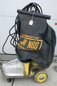 National Super Service Nss M 1 pig Commercial Canister Vacuum Heavy Duty Vtg