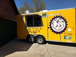 2015 8 5 X 16 Mobile Kitchen Food Concession Trailer For Sale In Michigan