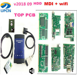 Quality A Mdi 2018 09 Wifi For Gm Mdi Scanner And Software Hdd Car Diagnosis