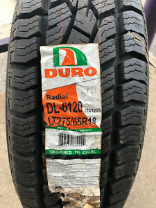 1 New Lt 275 65 18 Lre 10 Ply Duro Frontier A t Tire