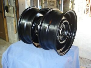 Vintage Ford Dodge 2 14 Stock Wheels 5 On 4 1 2 5 1 2 Wide