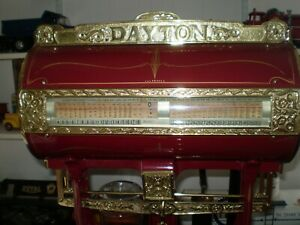 Restored Early 1900s Dayton The Computing Scale Co Horizontal Barrel Scale